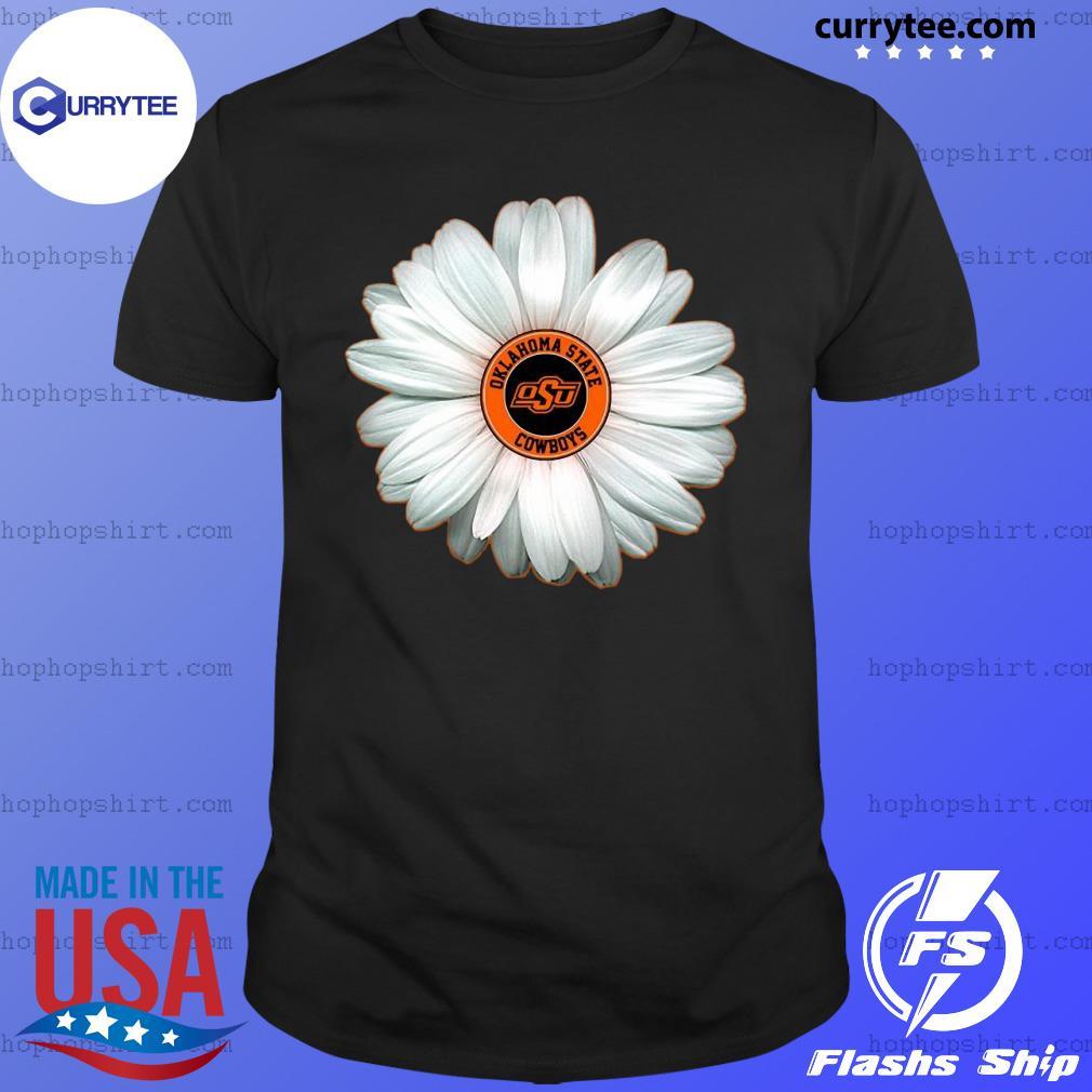 Peaceminusone Flowers Oklahoma State Cowboy Shirt