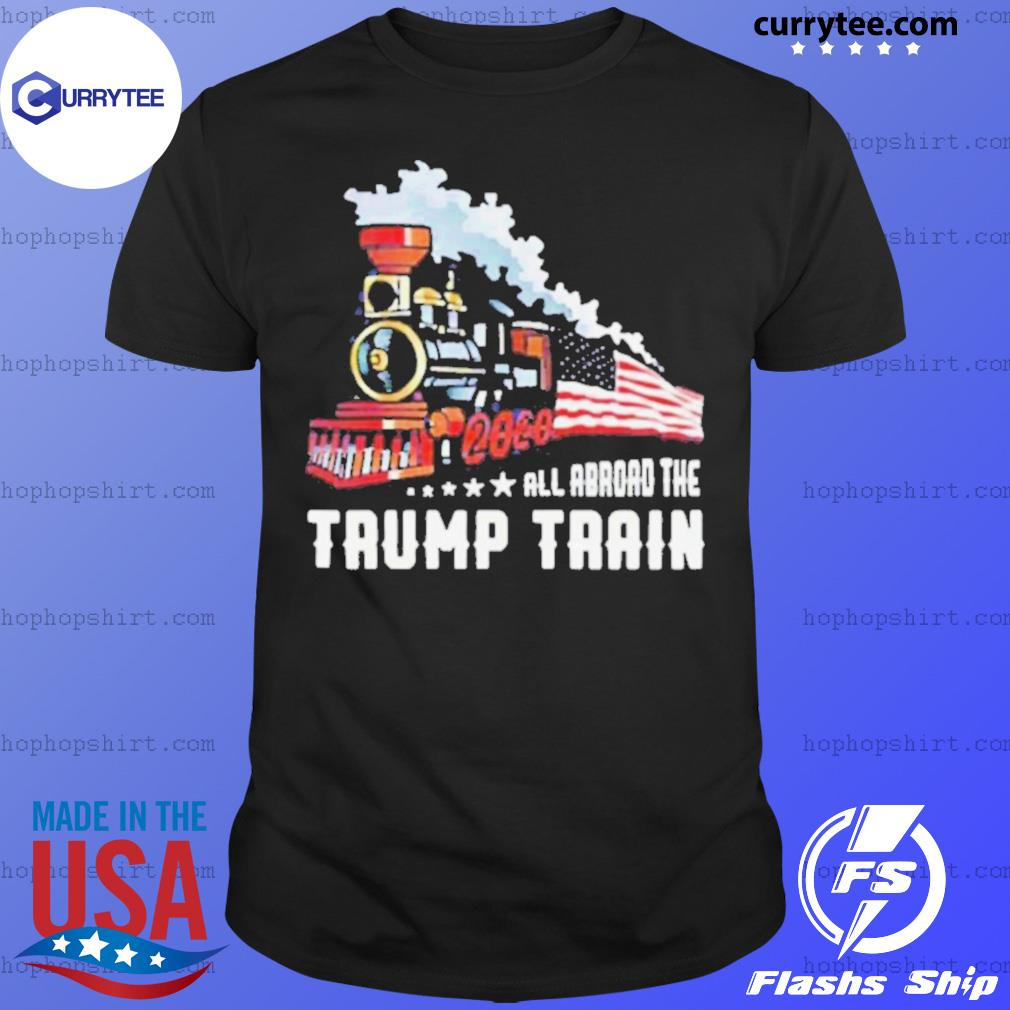 2020 All Aboard The Trump Train shirt