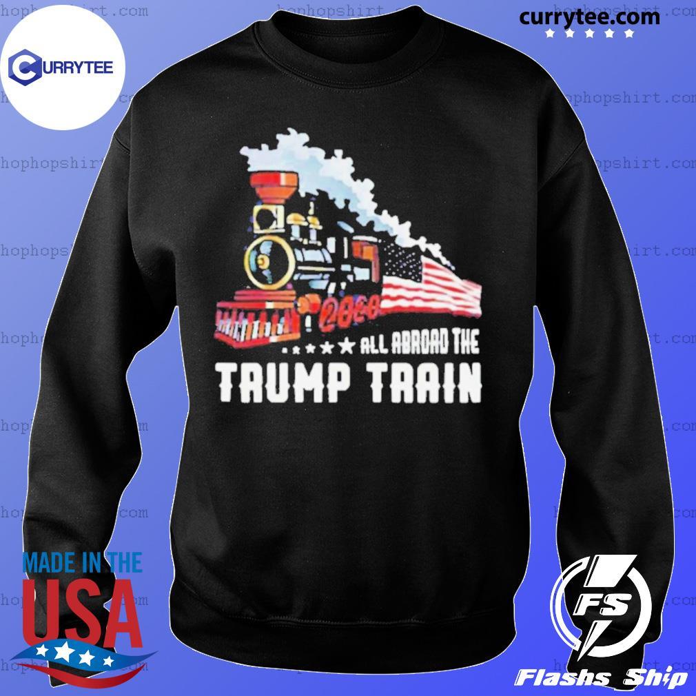 2020 All Aboard The Trump Train s Sweater