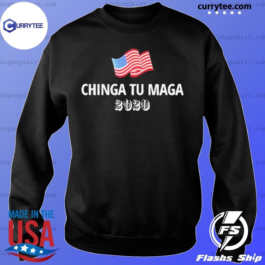 Chinga Tu Maga 2020 Flag US s Sweater
