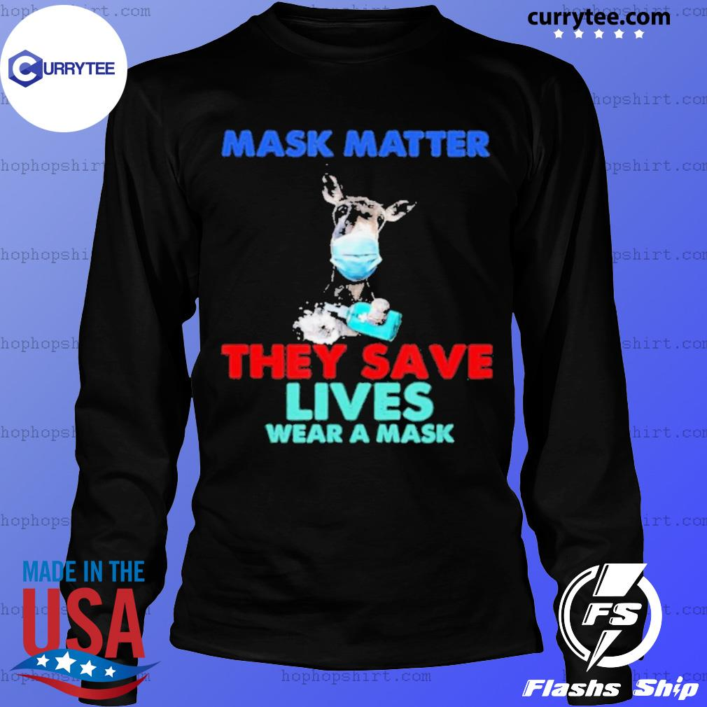 Donkey Mask Matter They Save Lives Wear A Mask s LongSleeve