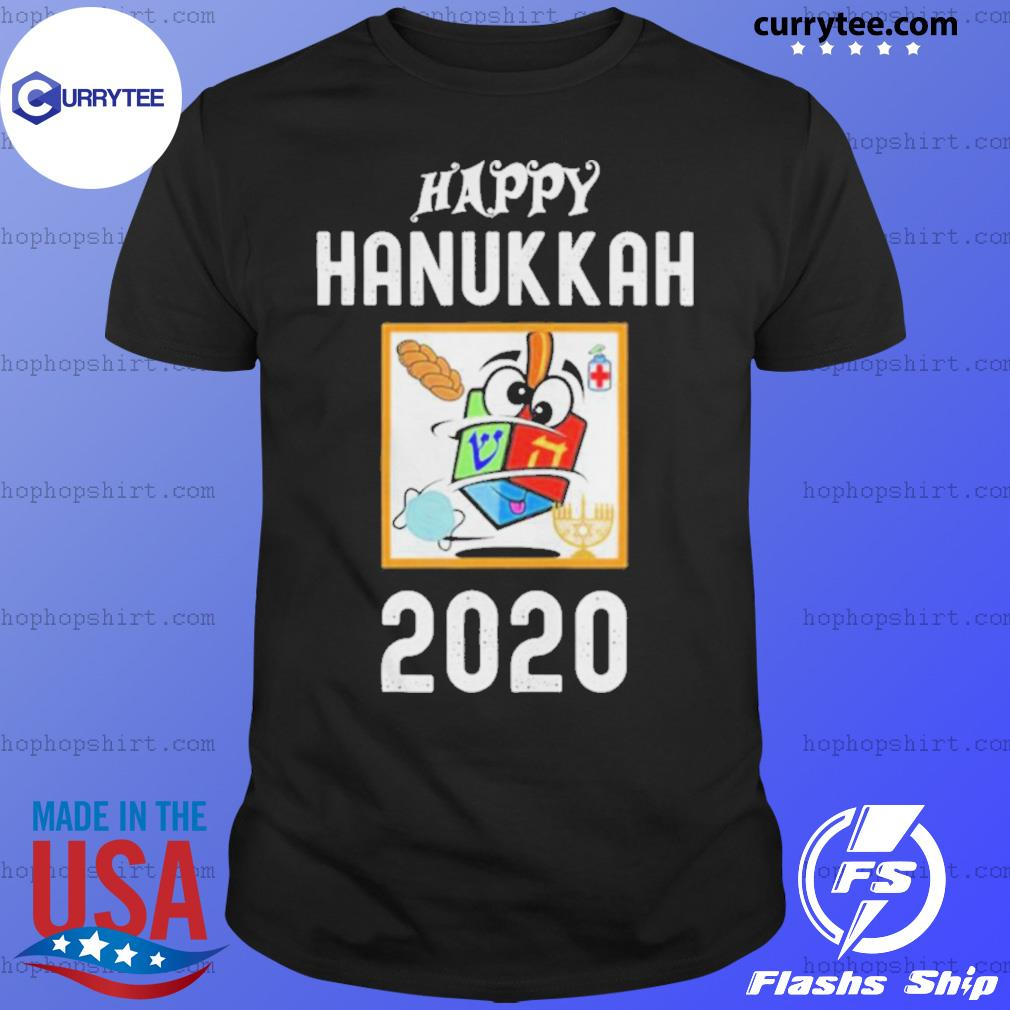 Happy hanukkah 2020 sanitizer and challah shirt
