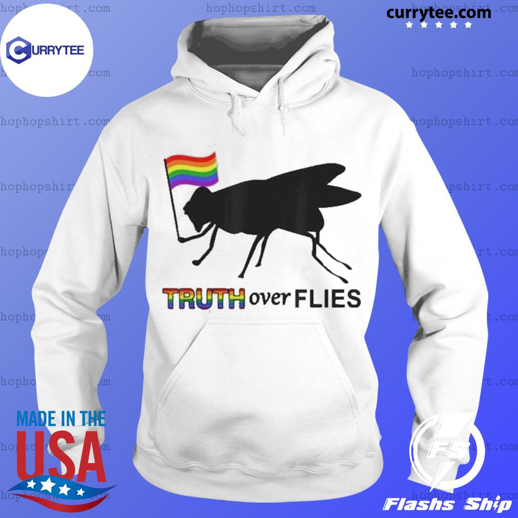 Lgbt Truth Over Flies Funny Donald Trump President 2020 Vote s Hoodie