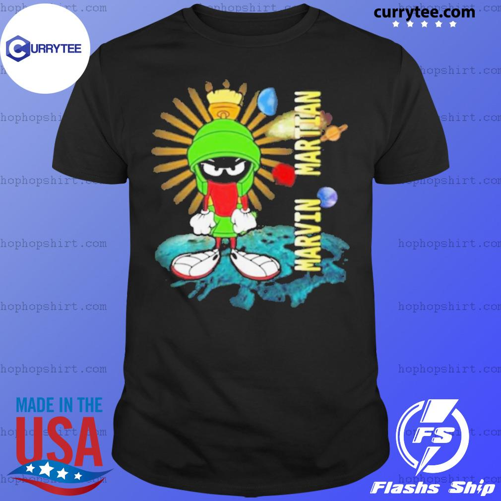 Looney Tunes Marvin Martian shirt