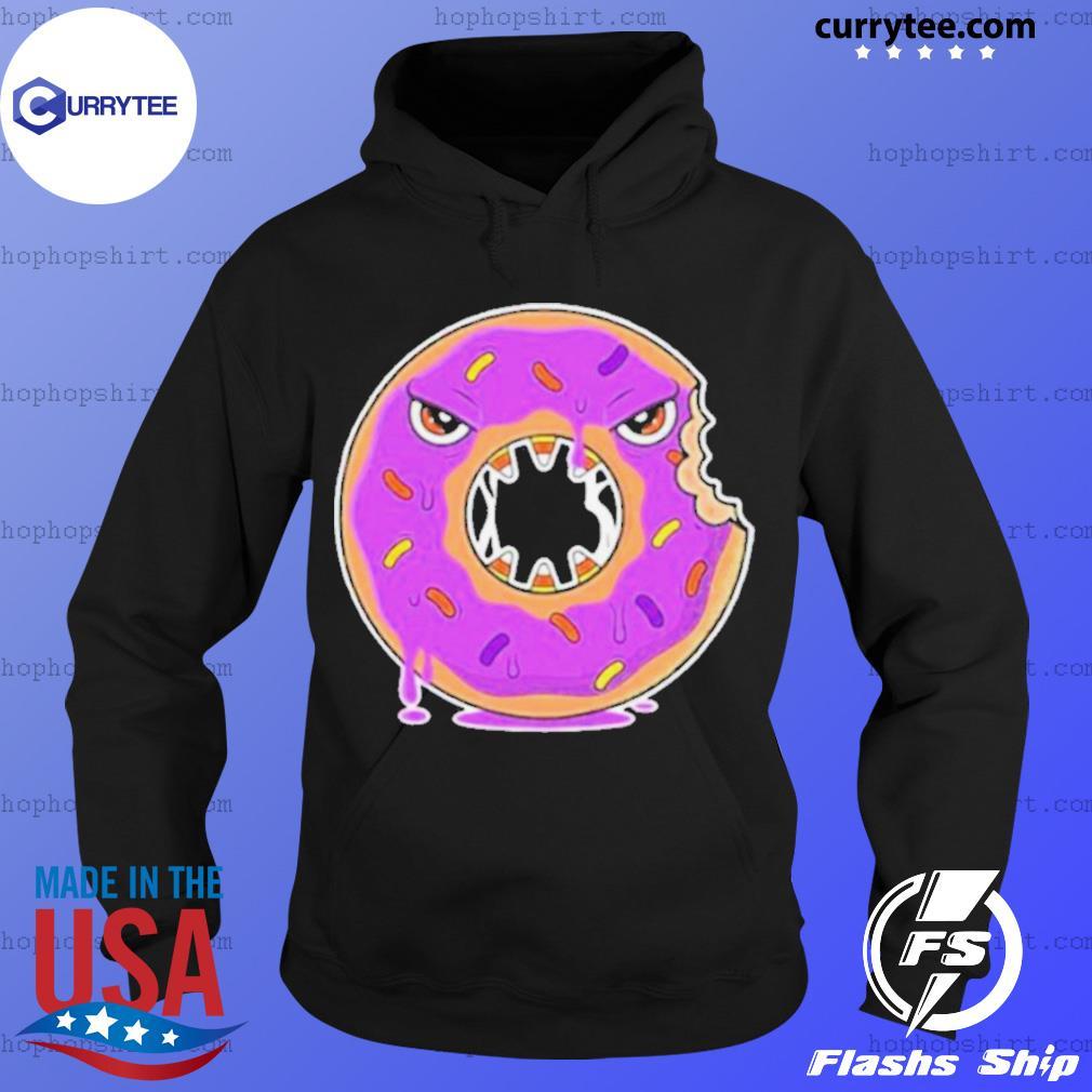 Scary Donut Costume Happy Halloween s Hoodie