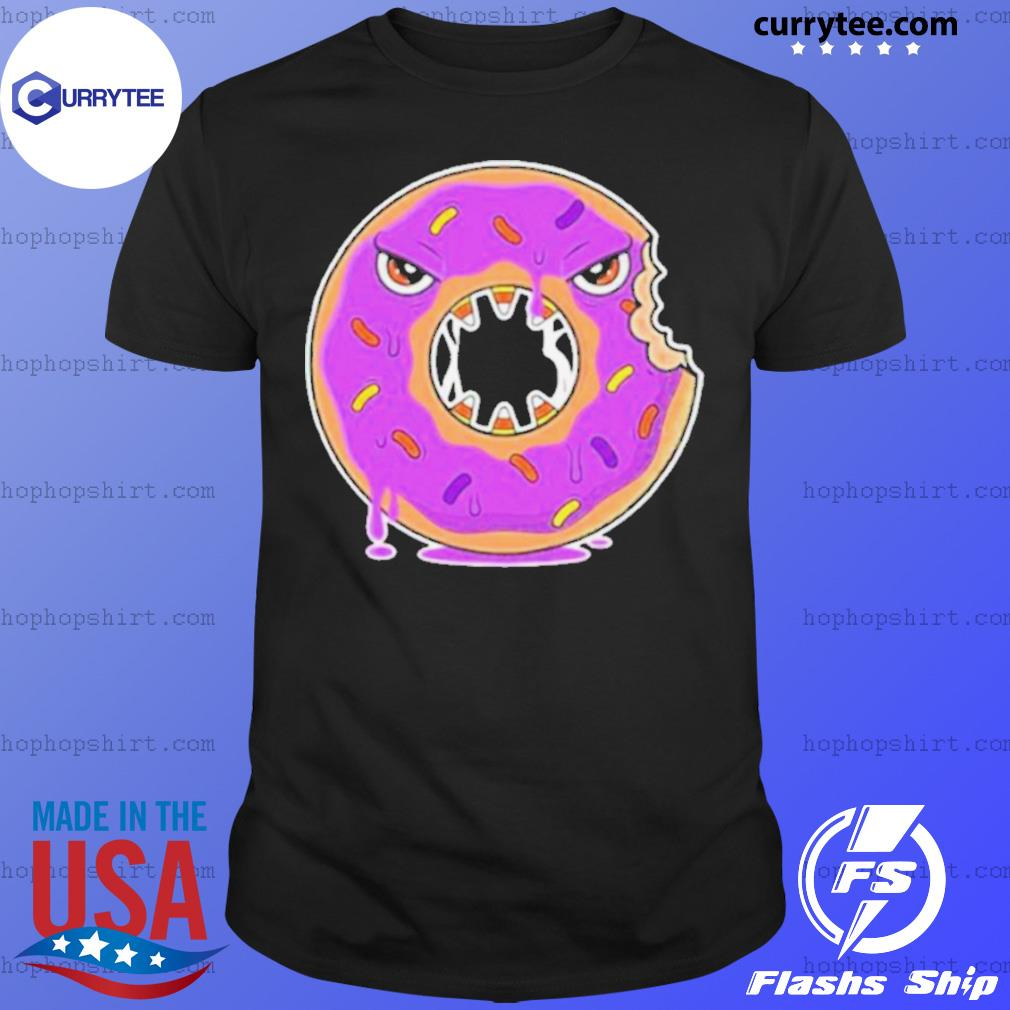 Scary Donut Costume Happy Halloween shirt