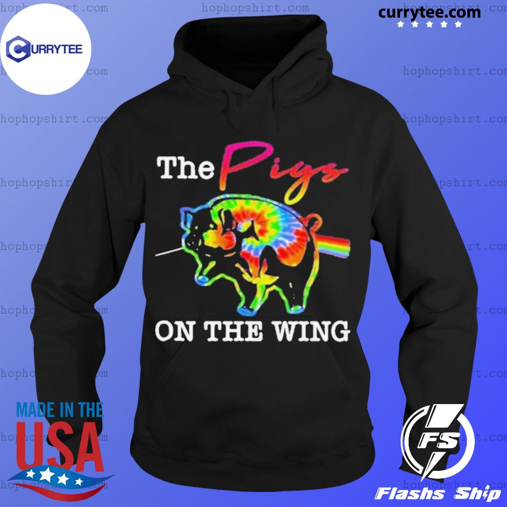 The pigs on the wing hippie s Hoodie