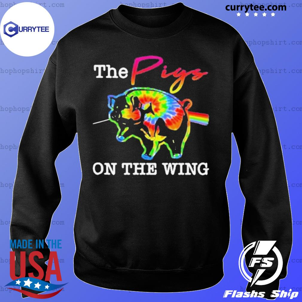 The pigs on the wing hippie s Sweater