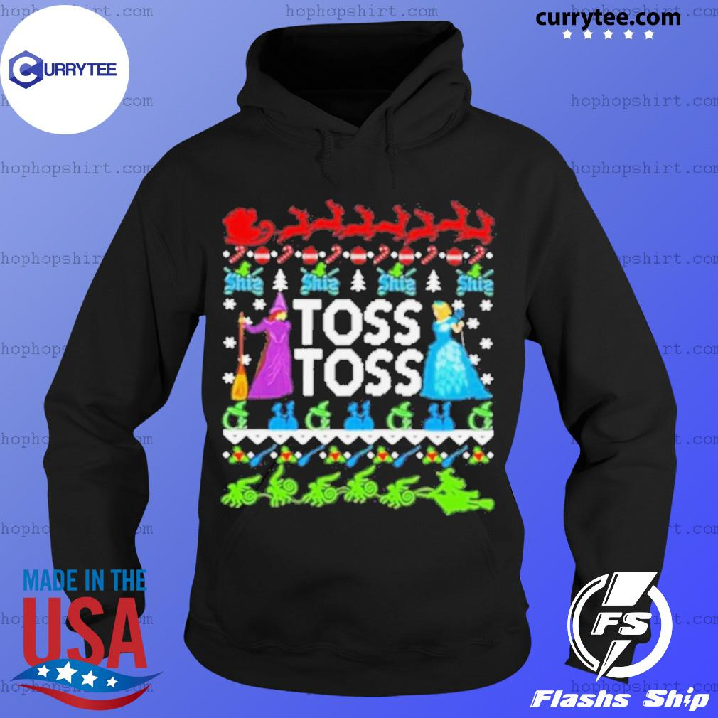 Toss toss Witch Merry Christmas s Hoodie