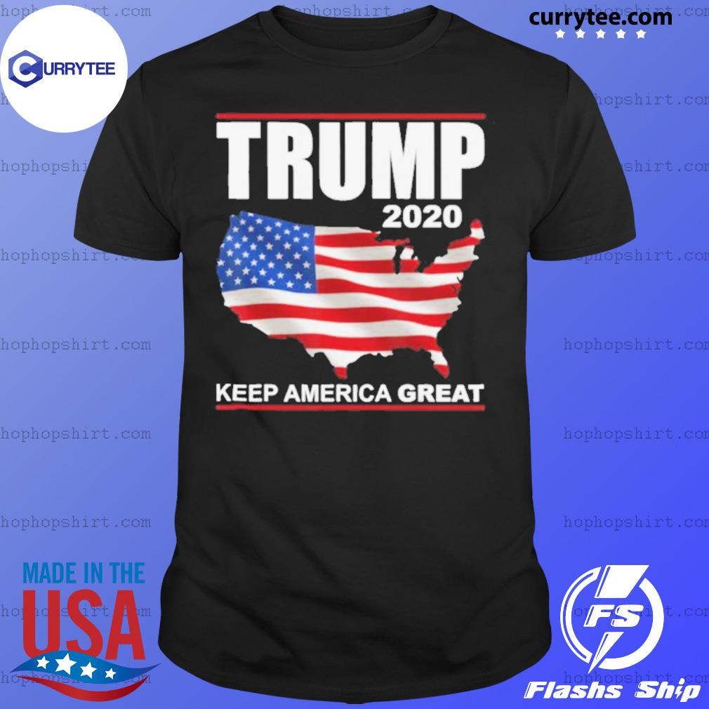 Trump 2020 USA Flag Keep America Great Vote Trump shirt