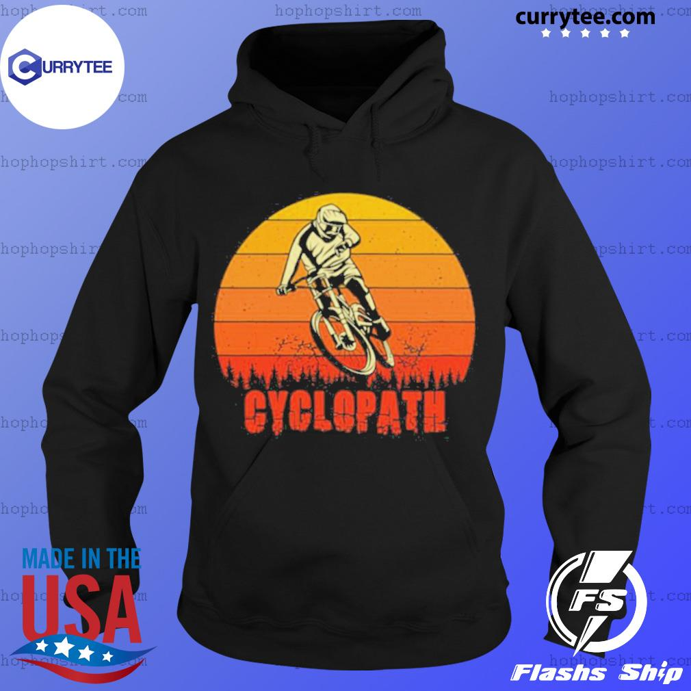 Vintage Cyclopath MTB Bike Sunset s Hoodie