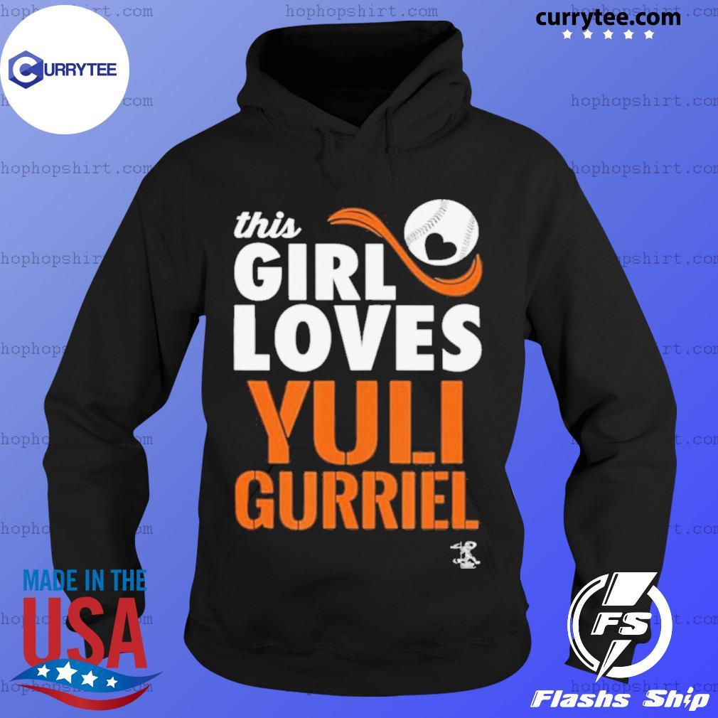 Yuli Gurriel This Girl Loves Gameday s Hoodie