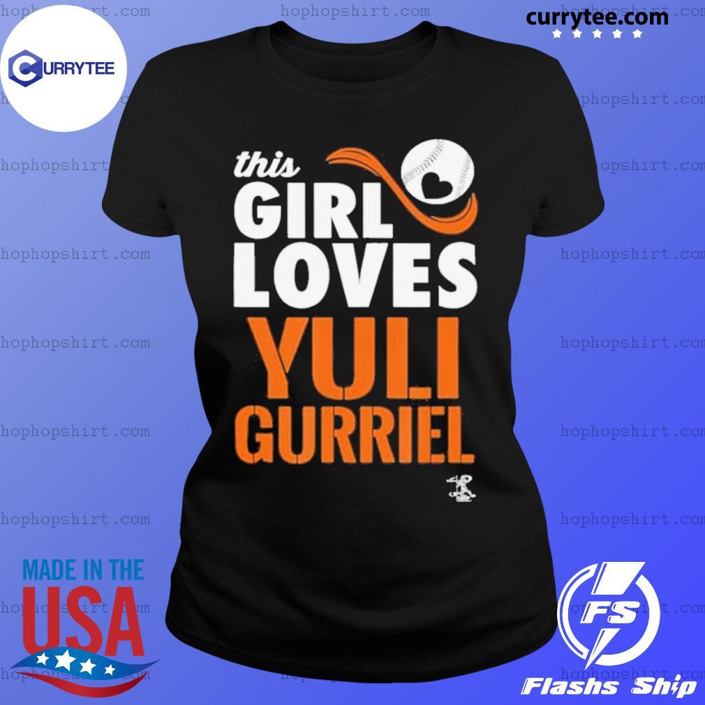 Yuli Gurriel This Girl Loves Gameday s Ladies Tee