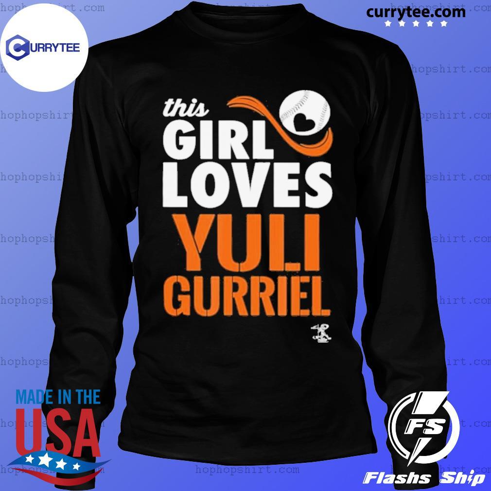 Yuli Gurriel This Girl Loves Gameday s LongSleeve
