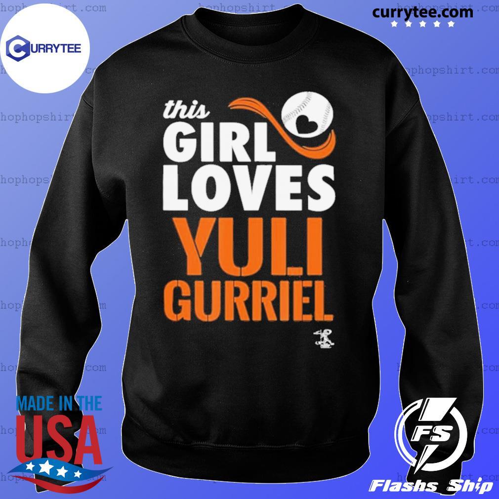 Yuli Gurriel This Girl Loves Gameday s Sweater