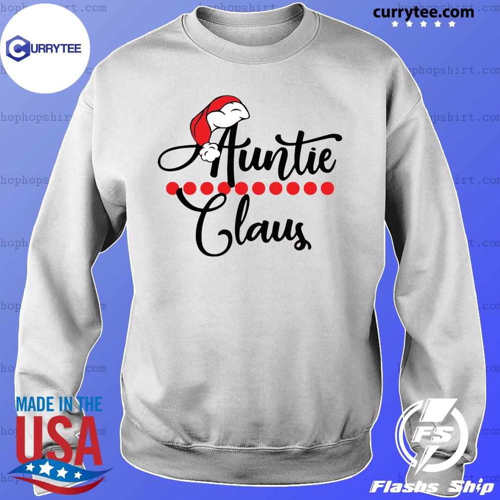 Auntie Claus Christmas 2021 sweatshirt