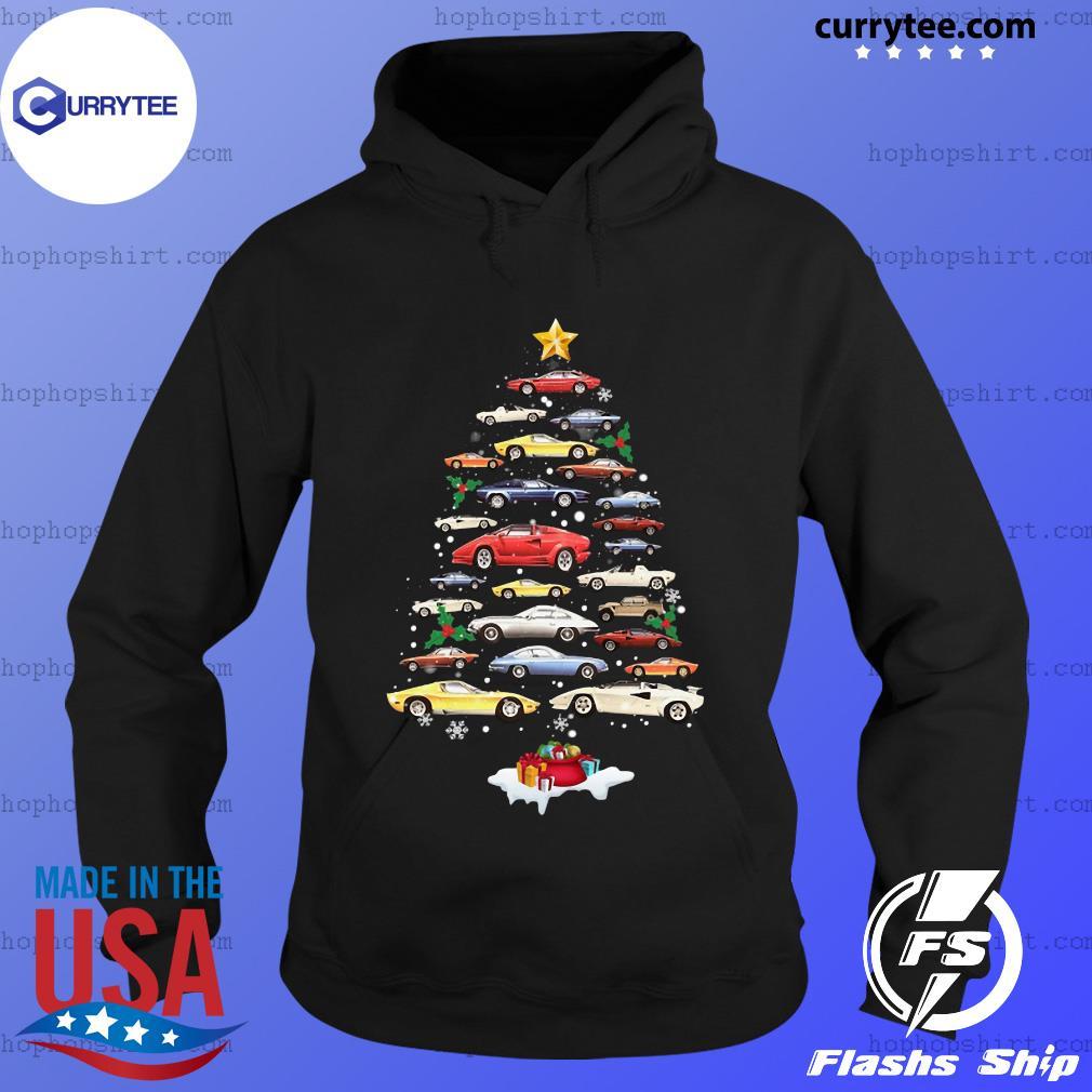 Cars Merry Christmas Tree Sweats Hoodie