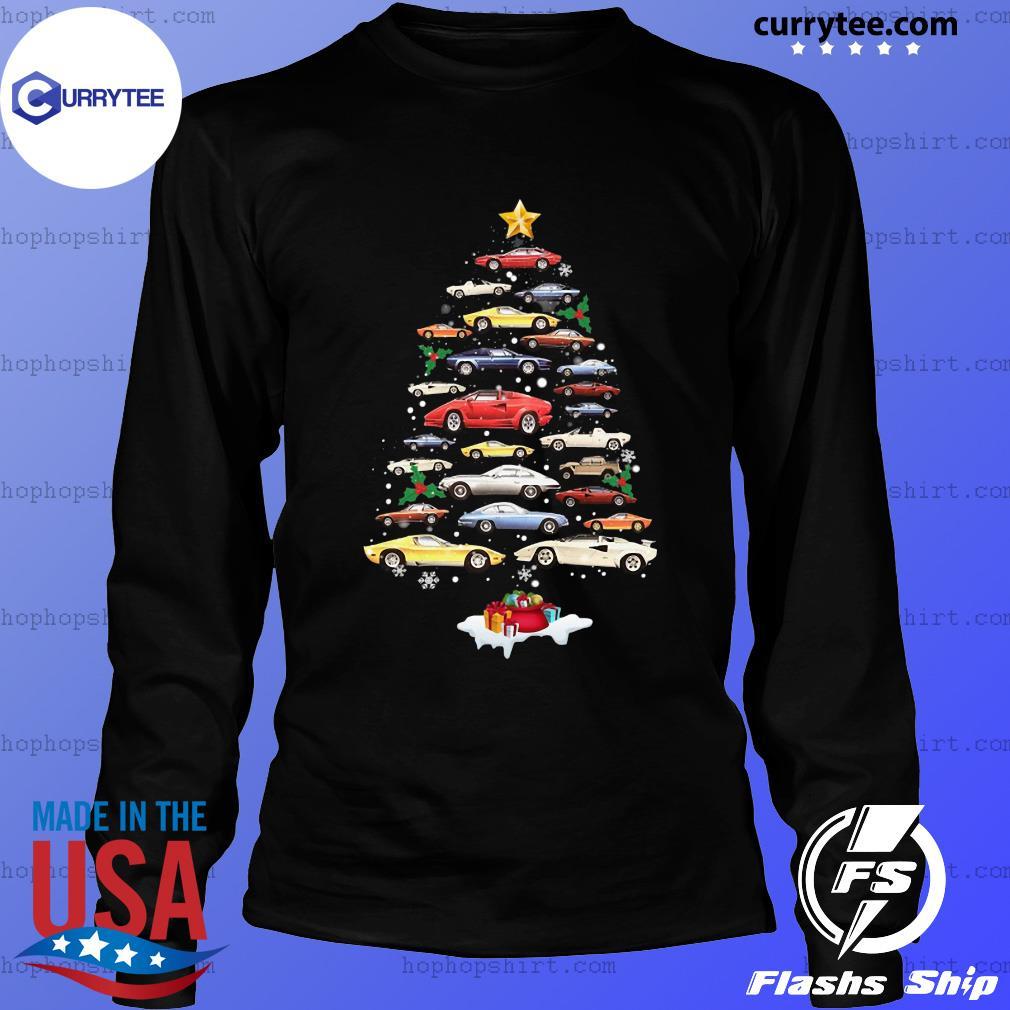 Cars Merry Christmas Tree Sweats LongSleeve