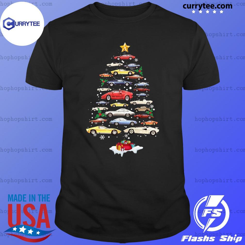 Cars Merry Christmas Tree Sweats Shirt