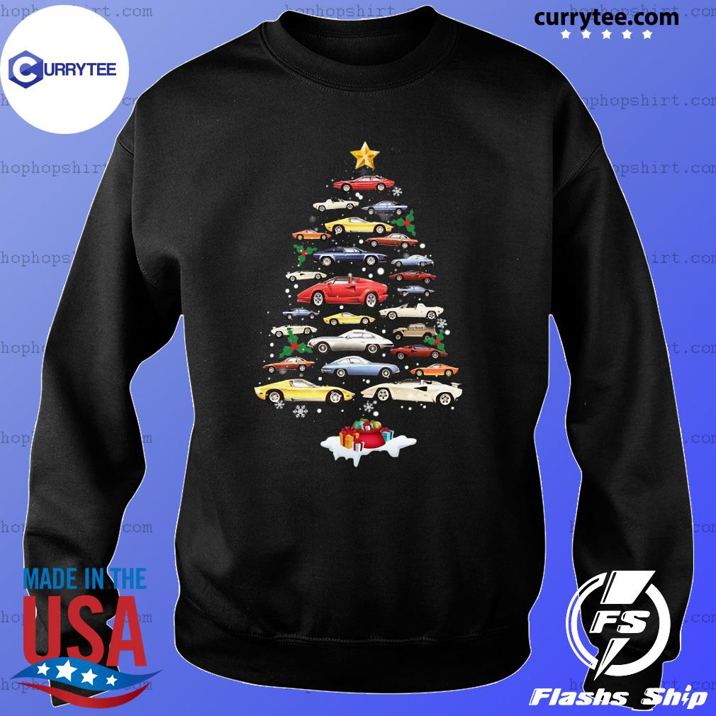 Cars Merry Christmas Tree Sweatshirt