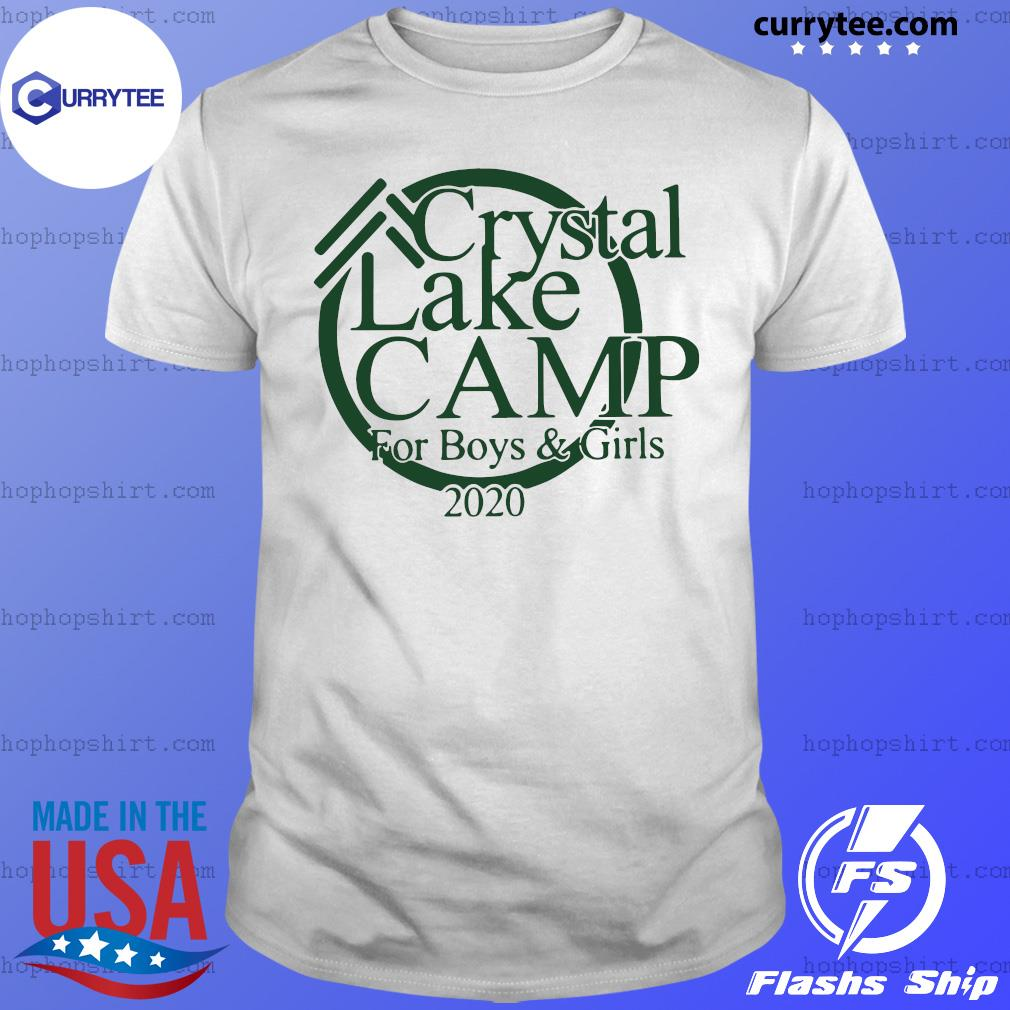Crystal Camp lake For Boys And Girls 2020 shirt