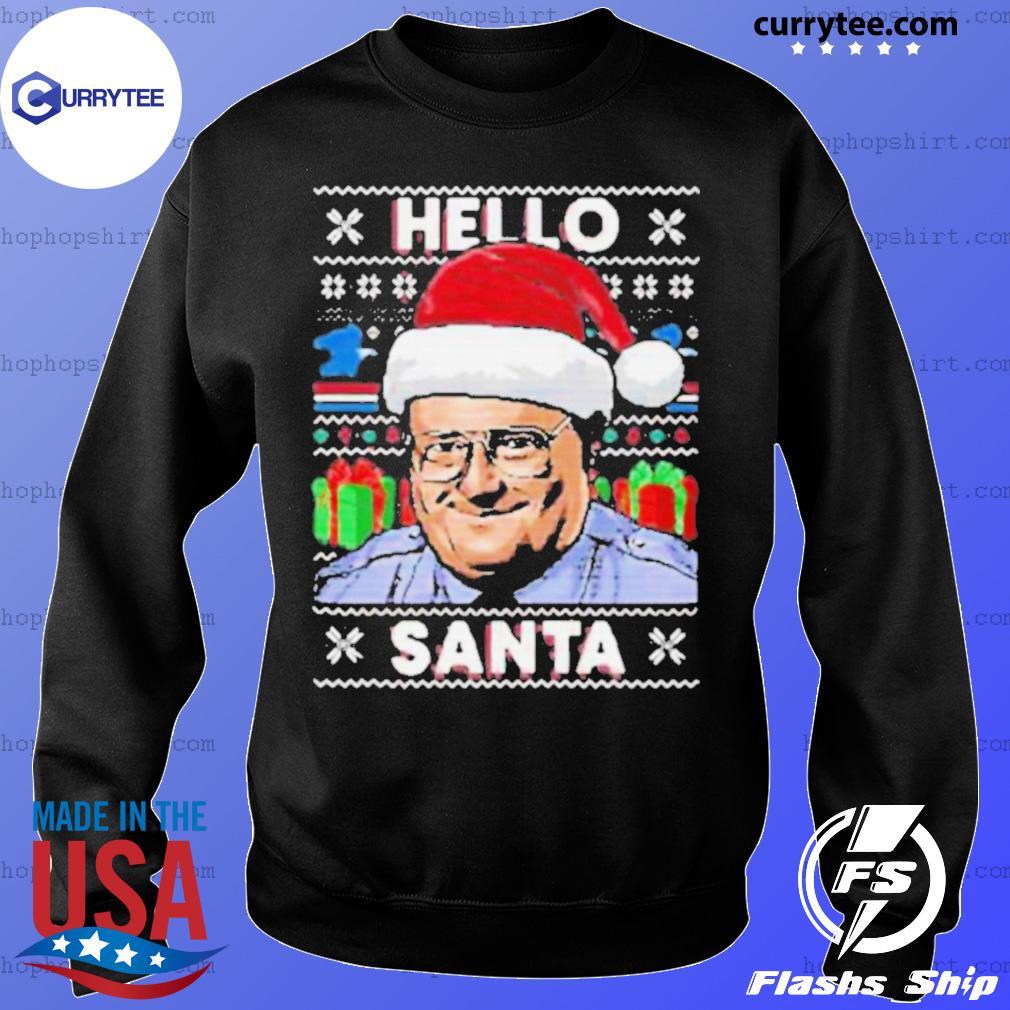 Hello santa ugly christmas sweatshirt
