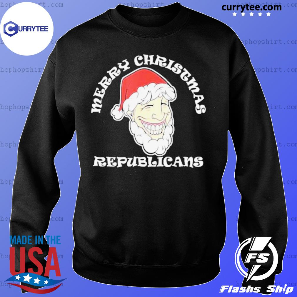 Merry Christmas Republicans Joe Biden sweatshirt