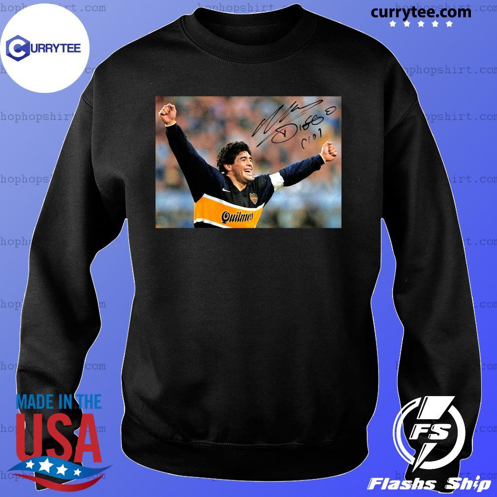 RIP Diego Maradona 1960 2020 Legend Never Die Signature Shirt Sweater