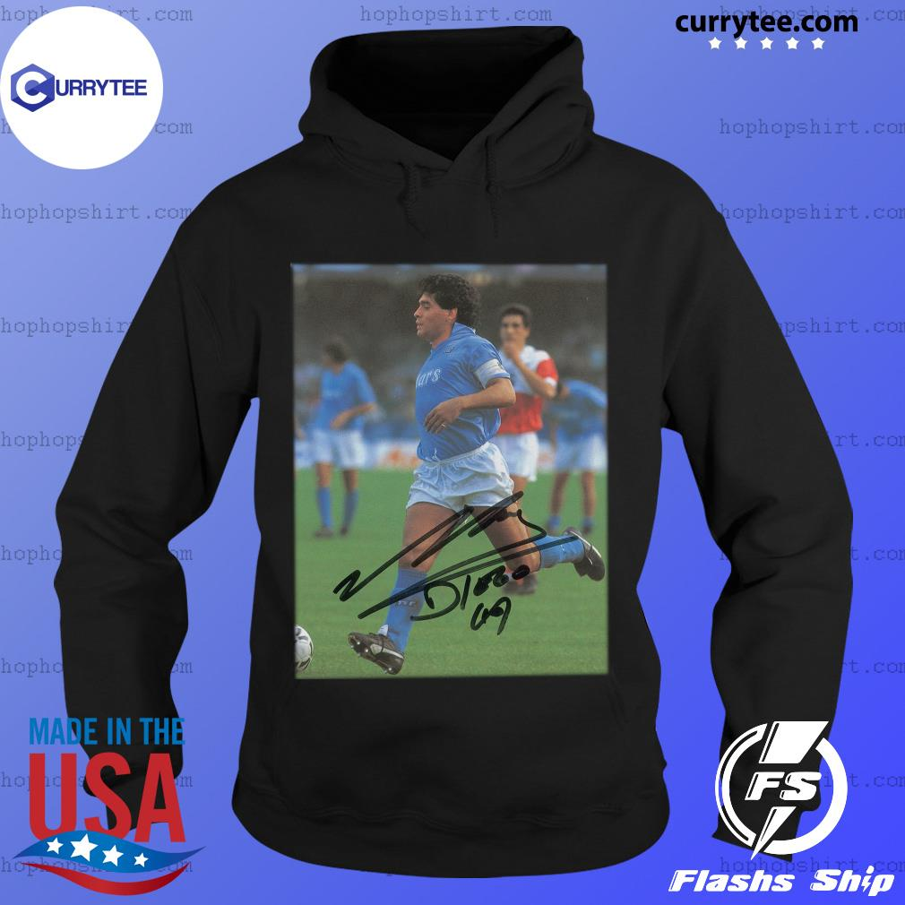 Rip Diego Maradona Legend Never Die Signature Shirt Hoodie