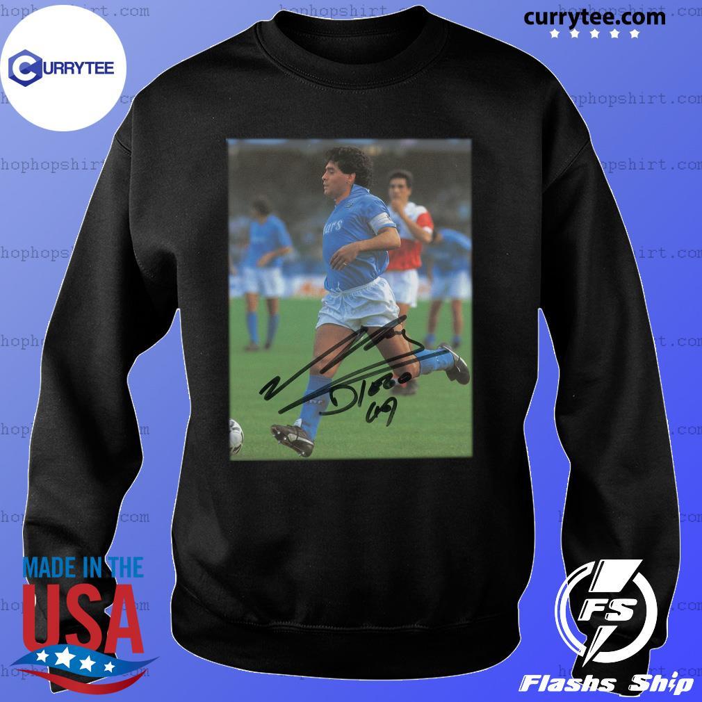 Rip Diego Maradona Legend Never Die Signature Shirt Sweater