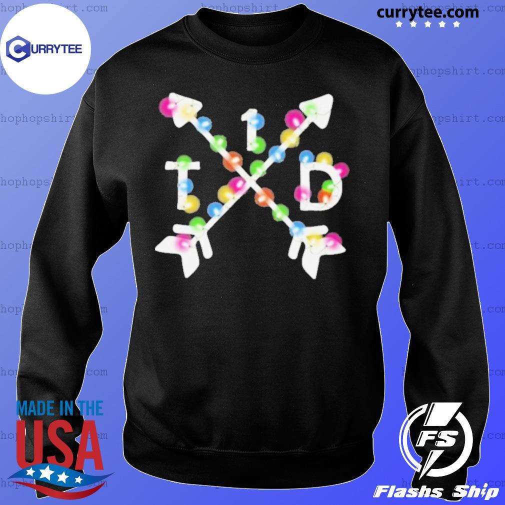 T1D Lighting Arrows Christmas Diabetes 2020 sweatshirt