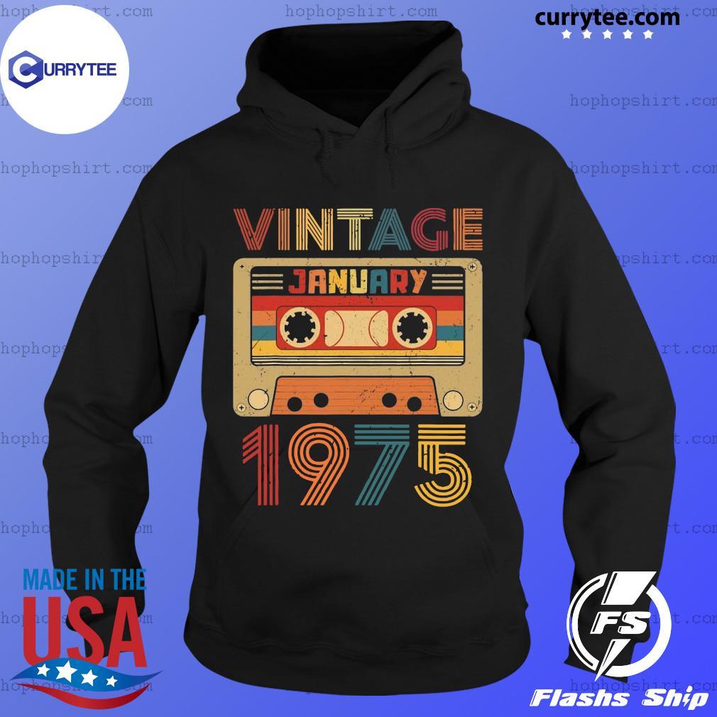 Vintage January 197 Retro T-Shirt Hoodie