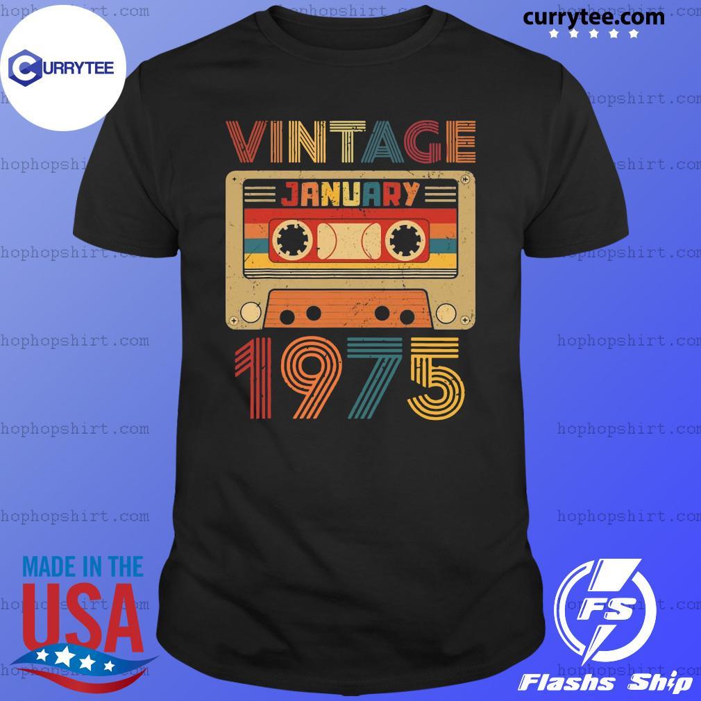 Vintage January 197 Retro T-Shirt